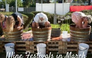 Wine Festivals March