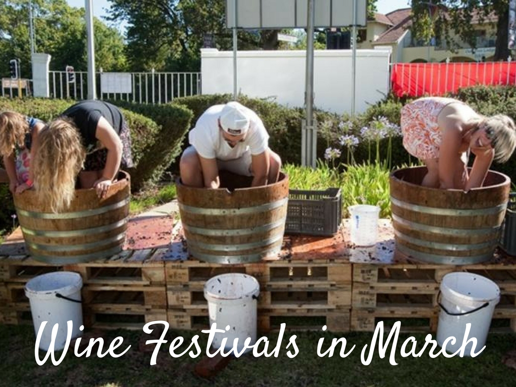 Wine Festivals March