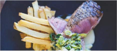 steak and chips cape winelands