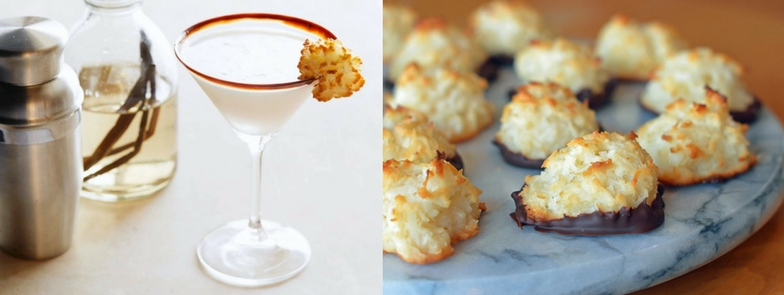 macaroon cocktail