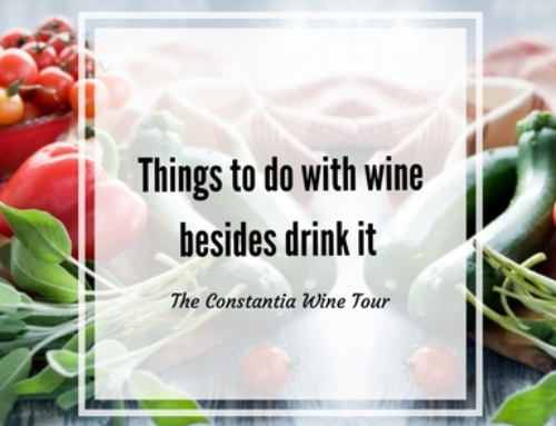 Things To Do With Wine (besides drink it)