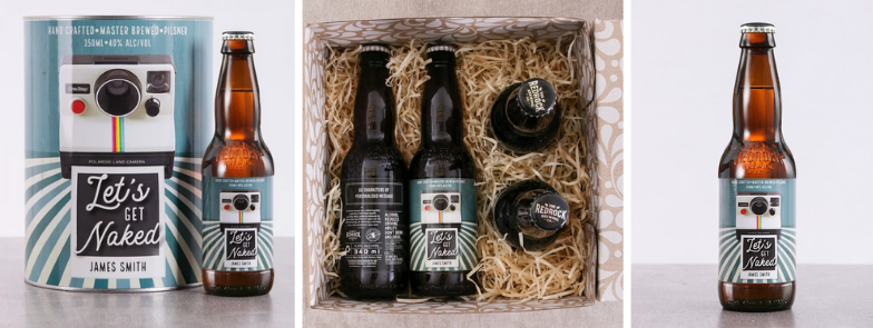 personalized craft beer